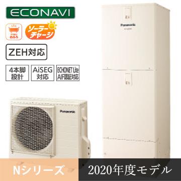 パナソニックエコキュート:NシリーズHE-NU37KQS